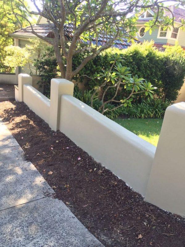 Concrete Fencing Sydney